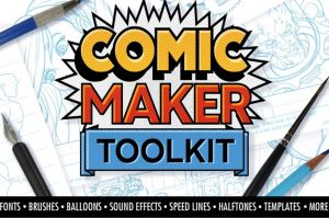 Comic Maker Toolkit Graphic